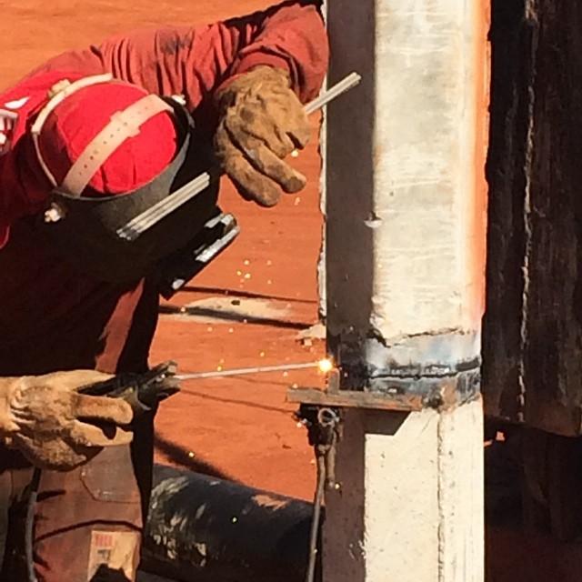 constru welding çãocivilProcesso of precast concrete