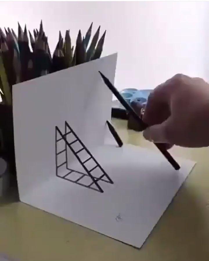 Construcaocivilcomo Make A 3d Drawing How To Do A 3d