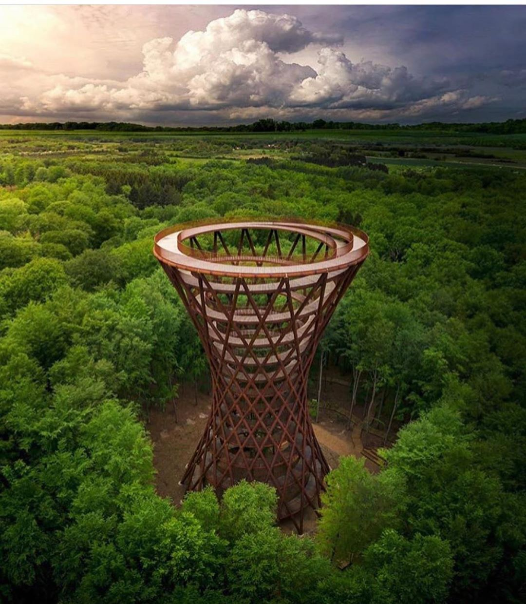 construçãocivilTorre na Floresta na Dinamarca. ////// Forest Tower ...